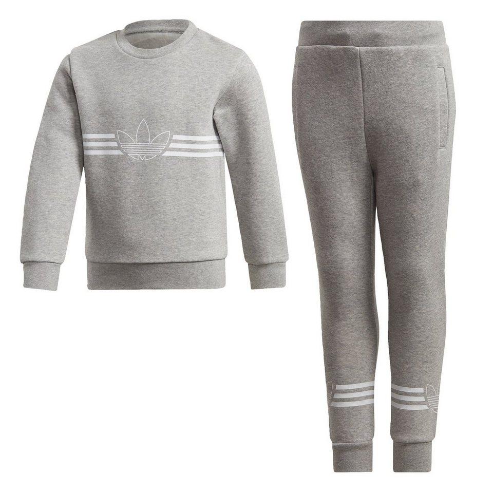100% genuine classic style official adidas Originals Trainingsanzug »Outline Crewneck Set« online kaufen   OTTO