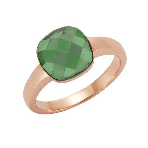 Jamelli Fingerring »925/- Sterling Silber Quarz (beh)«, Ring