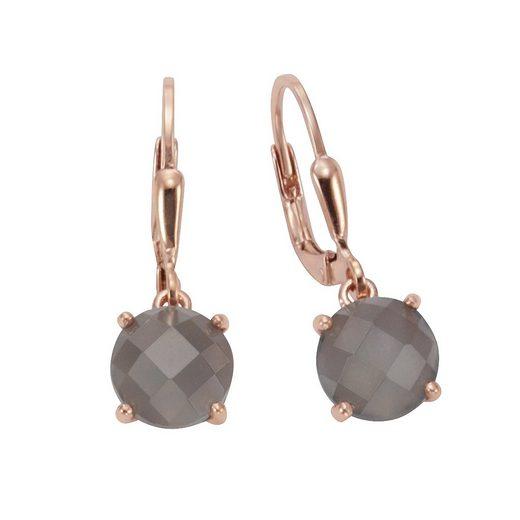 Jamelli Paar Ohrhänger »925/- Sterling Silber Mondstein«, Ohrhänger