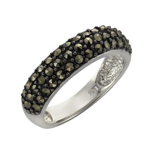 Zeeme Ring »925/- Sterling Silber Markasit«