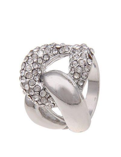 leslii Ring in glänzender Silber-Optik