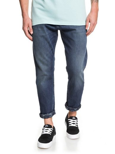 Quiksilver Straight-Jeans »High Water Aged Blue«