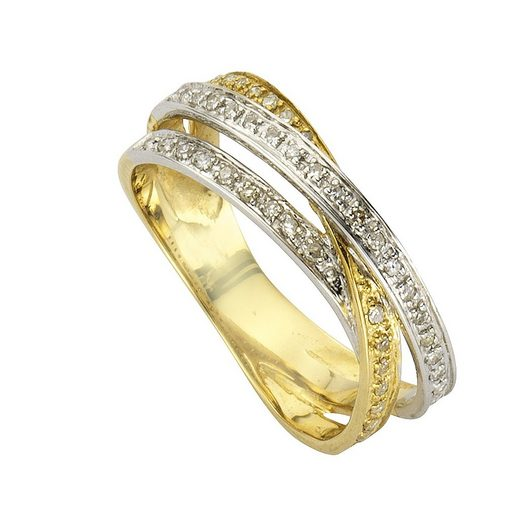 Diamonds by Ellen K. Ring »585/- Gold Diamant 0,24ct.«