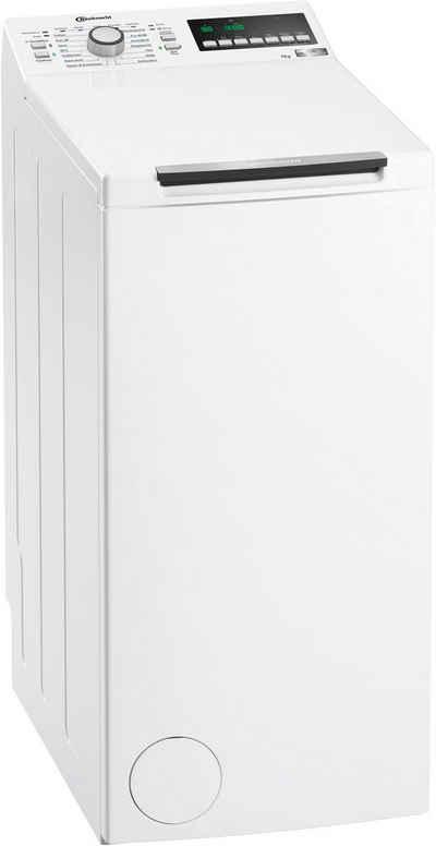 BAUKNECHT Waschmaschine Toplader WMT STYLE 722 ZEN N, 7 kg, 1200 U/min