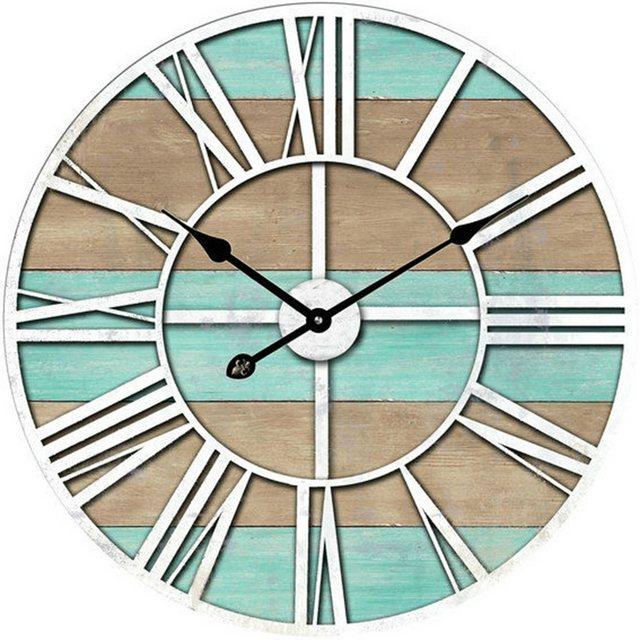 HTI-Line Wanduhr »Modern« | Dekoration > Uhren > Wanduhren | Bunt | HTI-Line