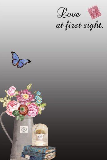 HTI-Line Spiegel »Flowers«