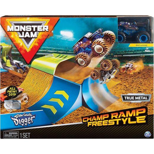 Spin Master Monster Jam Playset Champ Ramp Freestyle 1:64