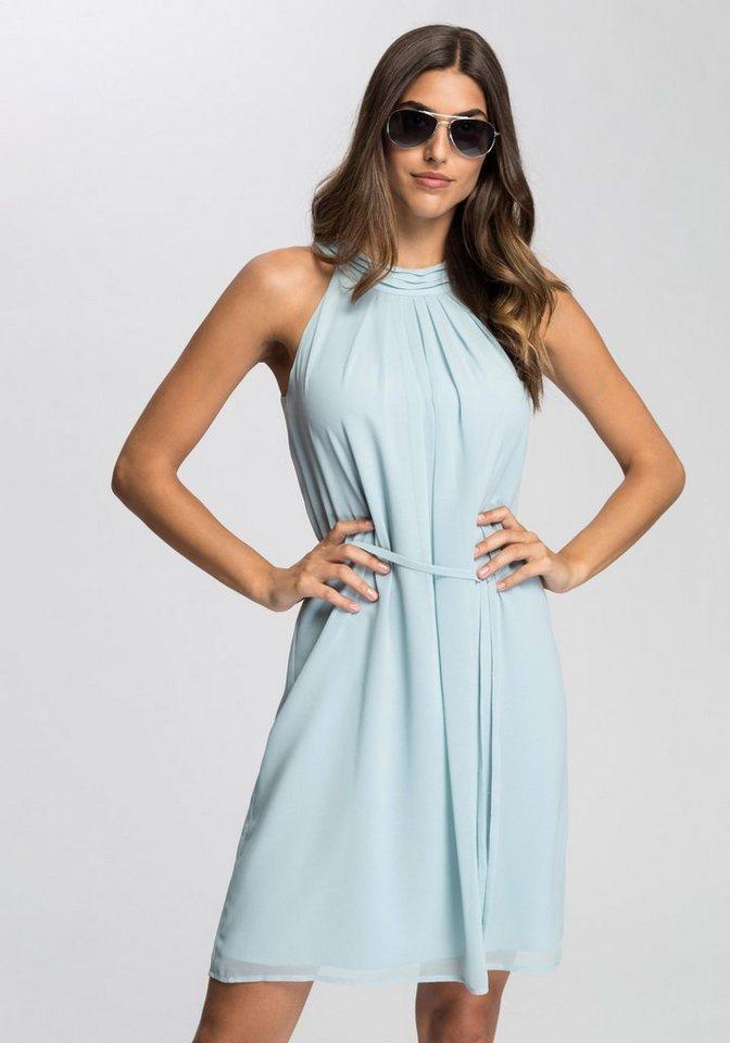 Esprit Collection Sommerkleid mit dekorativer Faltengruppe ...