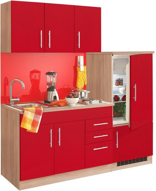 Einbauküchen - HELD MÖBEL Küchenzeile »Toledo«, mit E Geräten, Breite 180 cm  - Onlineshop OTTO