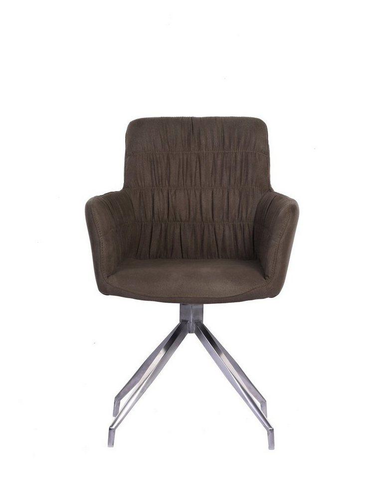 KAWOLA Stuhl Mit Drehfunktion Stoff Verschieden Farben