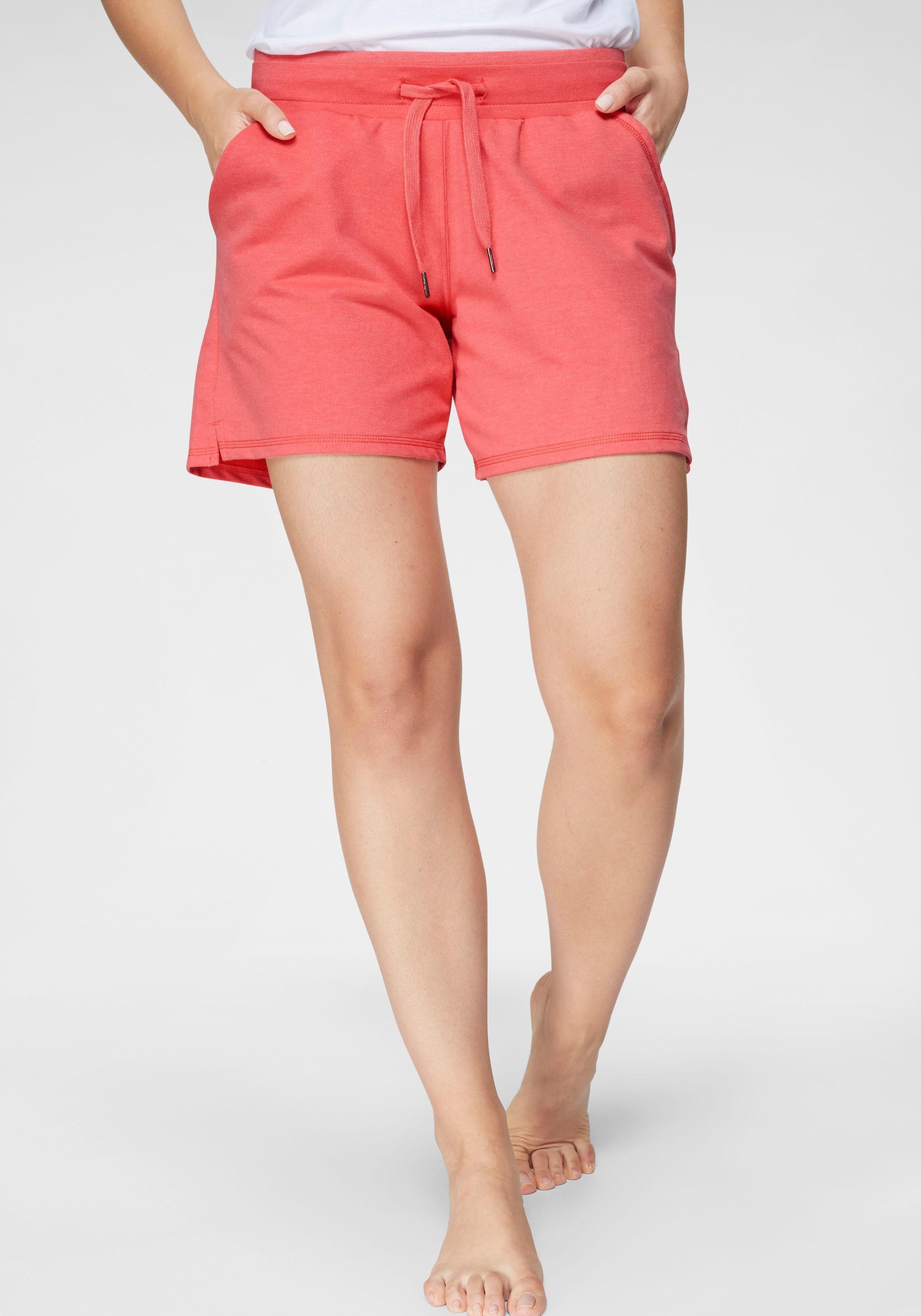 s.Oliver Jungen Kurze Sweathose//Shorts//Bermuda mit Neon Zugband dunkelblau 58C7