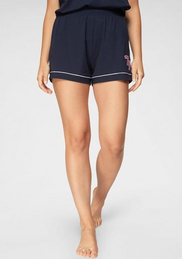 TOMMY HILFIGER Shorts mit TH-Labeling am Bein