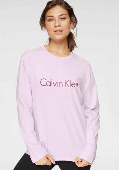 Calvin Klein Langarmshirt mit Logodruck