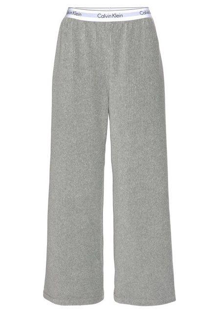 Calvin Klein Loungehose in Rippenstruktur mit Wäschebund | Bekleidung > Umstandsmode > Umstandstuniken | Calvin Klein