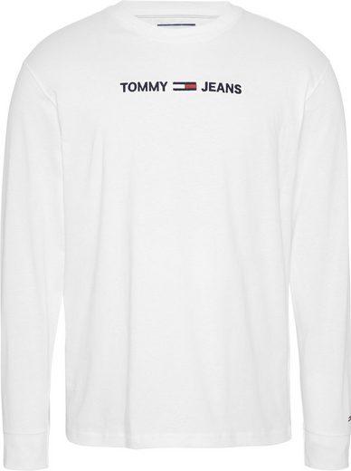 TOMMY JEANS Langarmshirt »TJM LONGSLEEVE SMALL LOGO TEE«