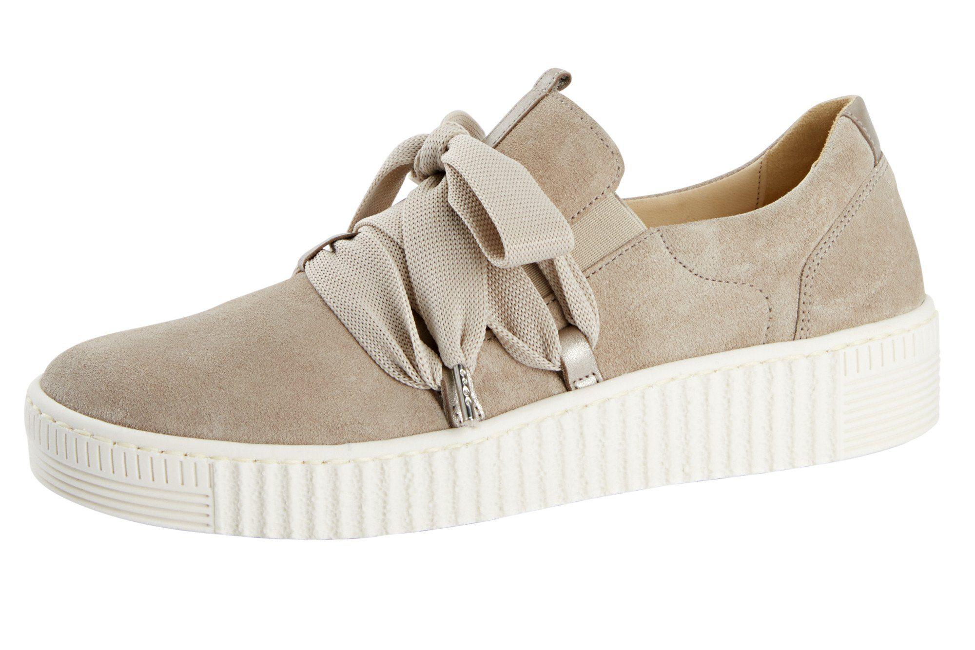 GABOR Sneaker, Materialmix aus Leder online kaufen | OTTO