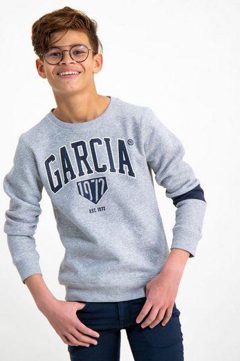 Garcia Sweater mit GARCIA-Logo-Print