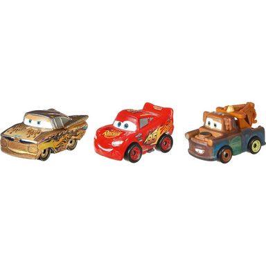Mattel® Disney Cars Mini Racers 3er-Pack Metallic Serie (Ramone, Mat