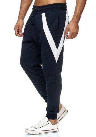 RUSTY NEAL Sportinės kelnės in sportlichem Design...