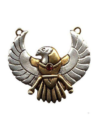 Adelia´s Amulett »Juwel des Atum Ra Talisman« Horus - Für Sicherheit auf Reisen