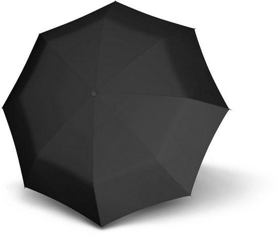 doppler® Taschenregenschirm »Carbonsteel Magic Uni, Black«