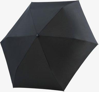 doppler® Taschenregenschirm »Fiber Havanna uni, Black«