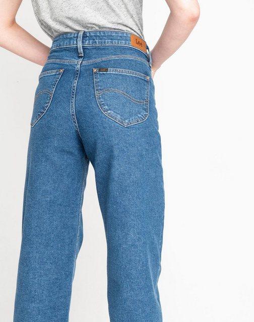 Lee® Weite Jeans High Waist im Five-Pocket-Style | Bekleidung > Jeans > Weite Jeans | Lee®