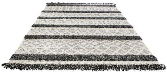 Wollteppich »Fano«, LUXOR living, rechteckig, Höhe 22 mm, Handwebteppich aus 100% Wolle