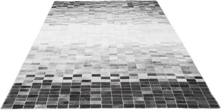 Fellteppich »Porto Allegre«, LUXOR living, rechteckig, Höhe 4 mm, echtes Rinderfell
