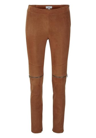 STYLE брюки кожаные с Stretcheffekt с ...