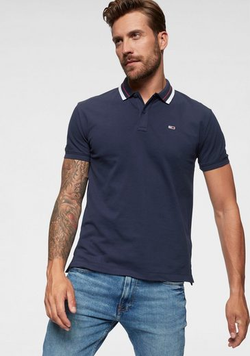Tommy Jeans Poloshirt »TJM CLASSICS TIPPED STRETCH POLO«