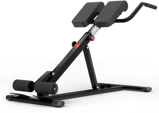 Sportstech Rückentrainer »BRT150«, 6in1 Rückentrainer und Bauchtrainer, Dip Bar, klappbar