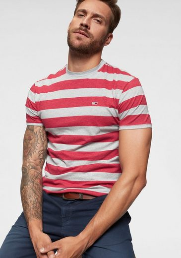 TOMMY JEANS T-Shirt »TJM HEATHER STRIPE TEE«
