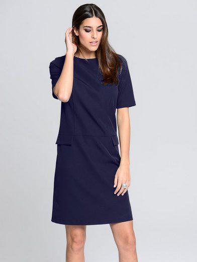 Alba Moda Kleid in leicht kastiger Form