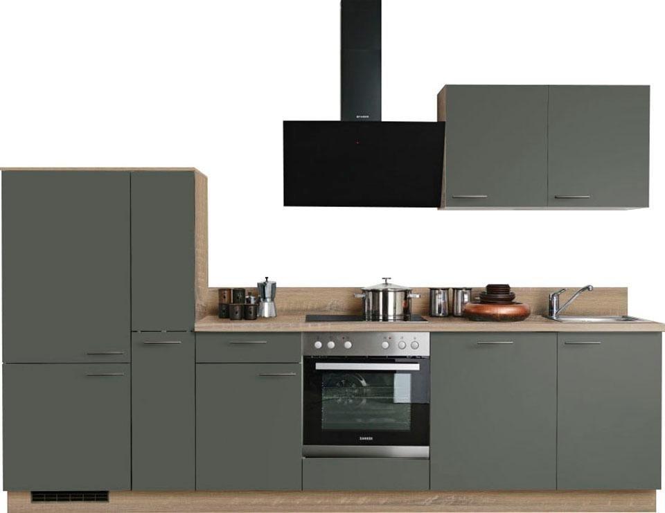 express k chen k chenzeile scafa mit e ger ten. Black Bedroom Furniture Sets. Home Design Ideas
