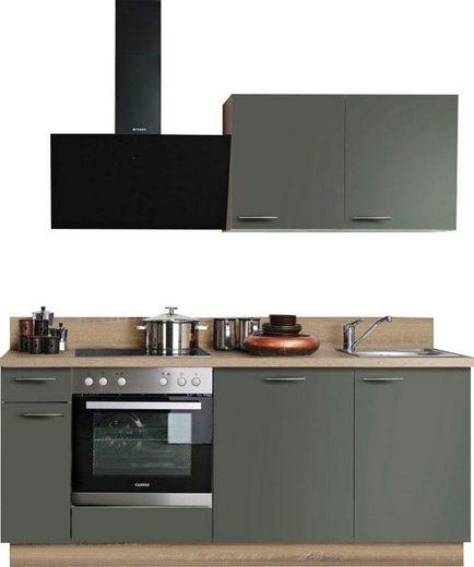 Express Küchen Küchenzeile »Scafa«, mit E-Geräten, Stellbreite 200 cm