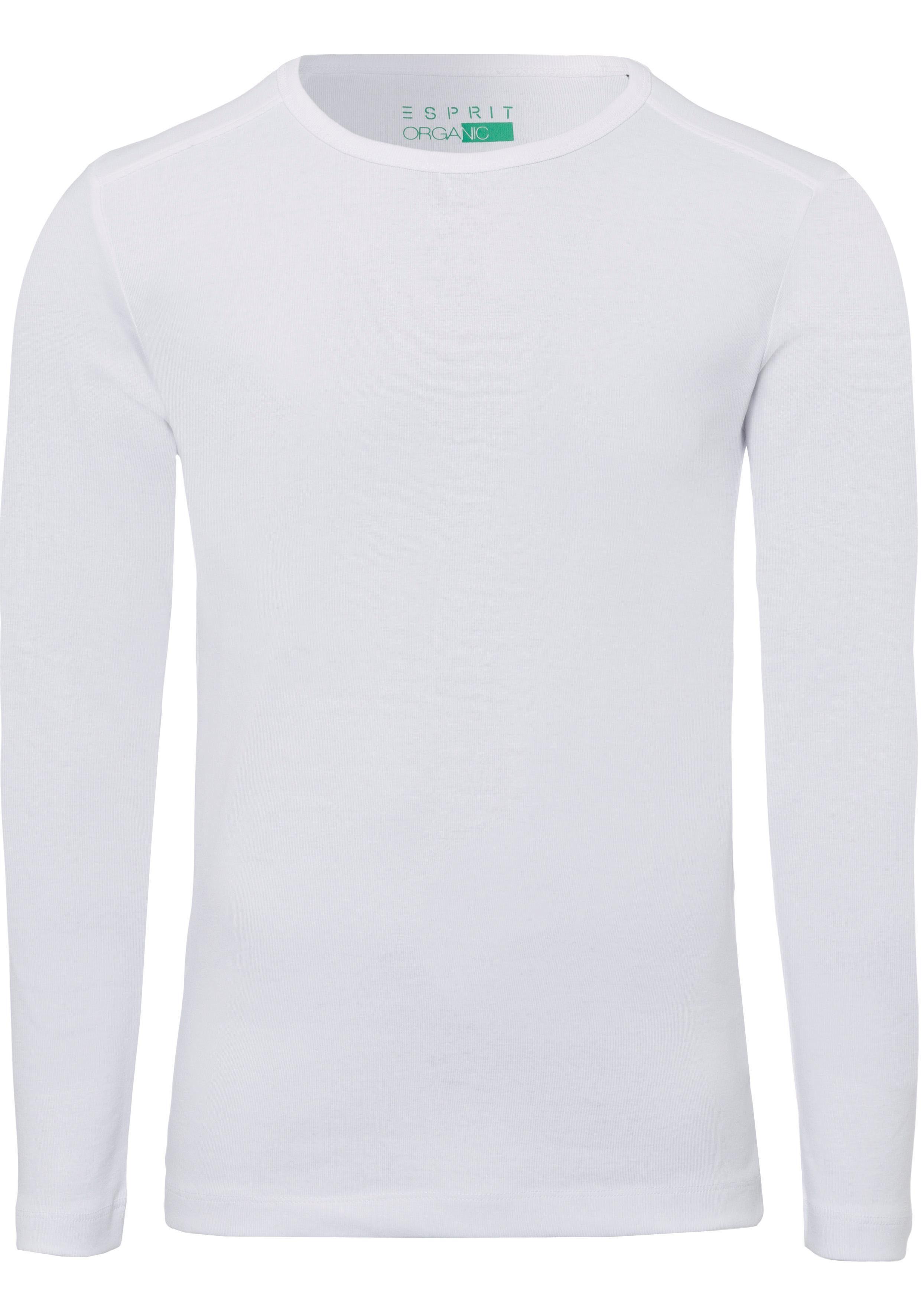 Esprit Langarmshirt im Basic Look, Pflegeleichte Qualität online kaufen | OTTO
