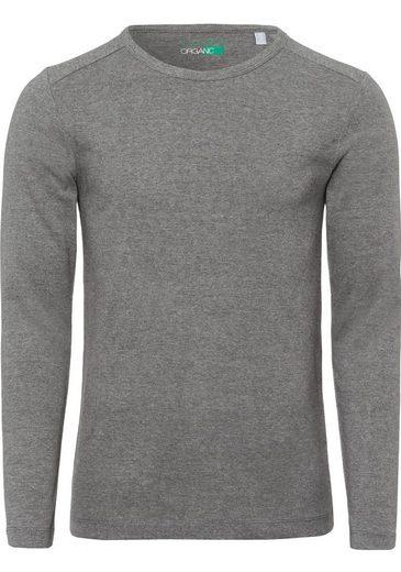 Esprit Langarmshirt im Basic-Look
