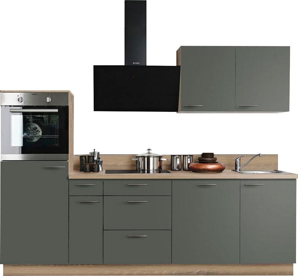 Express Küchen Küchenzeile »Scafa«, ohne E-Geräte, Breite ...