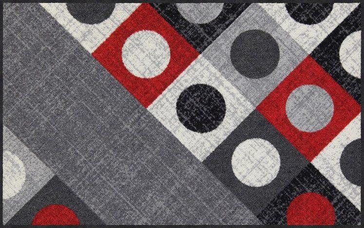 Teppich »Boules«, Salonloewe, rechteckig, Höhe 7 mm, waschbar