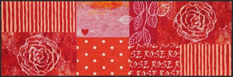 Läufer »Rose Heart«, Salonloewe, rechteckig, Höhe 7 mm, waschbar