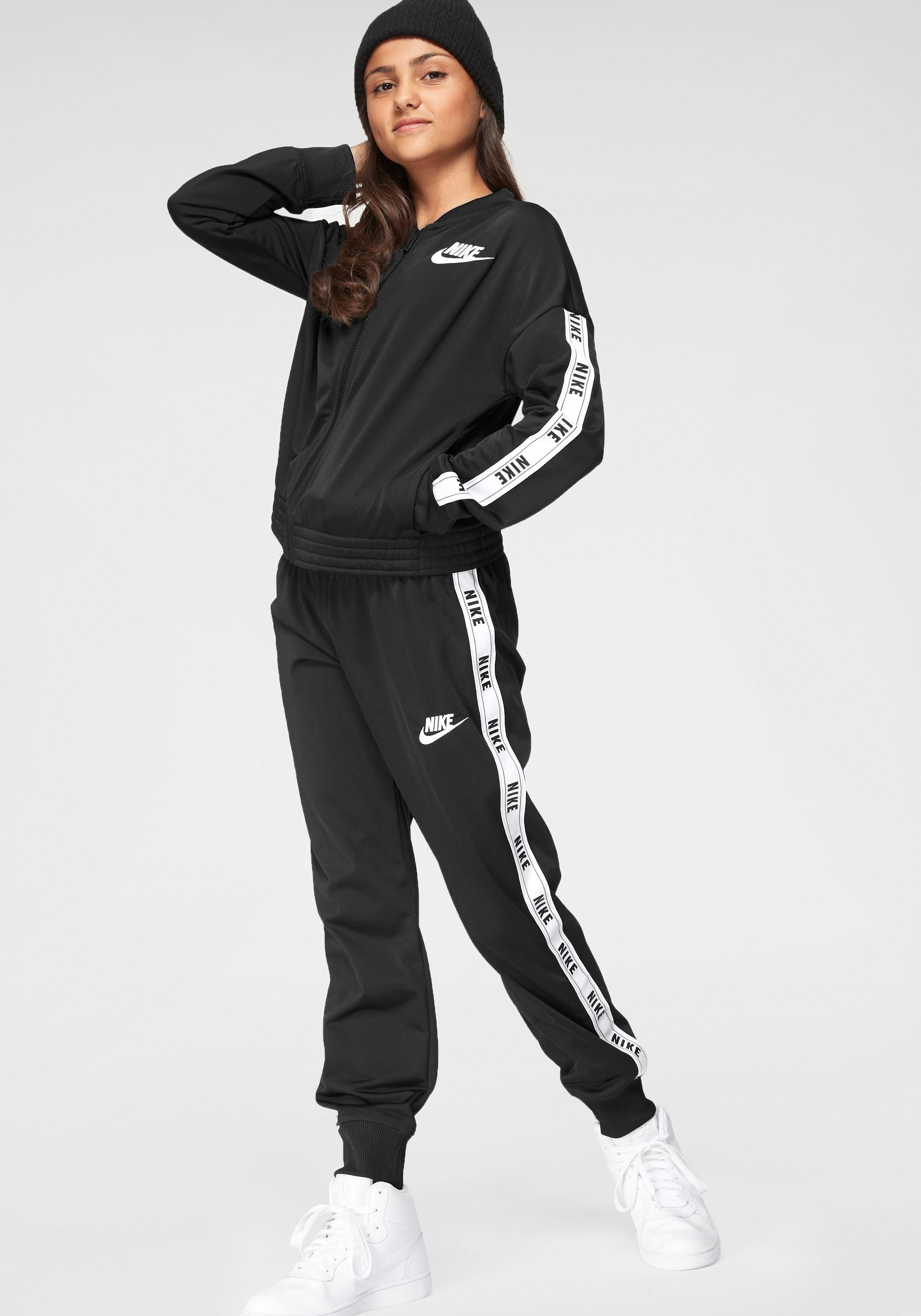 Nike Sportswear Trainingsanzug »GIRLS NIKE SPORTSWEAR TRACKSUIT TRICOT« (Set, 2 tlg) online kaufen | OTTO