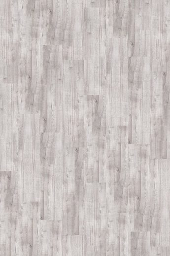 BODENMEISTER Teppichfliese »Velour Holzoptik Eiche hell-grau«, selbsthaftend 25 x 100 cm