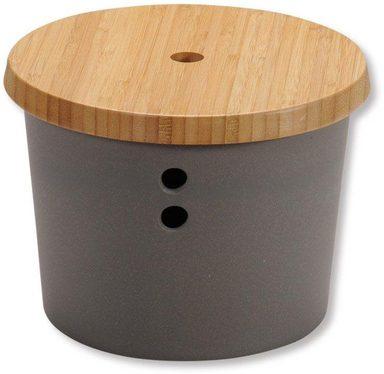 KESPER for kitchen & home Vorratsdose »Bamboo Fibre«, Bambus, Melamin, Holz