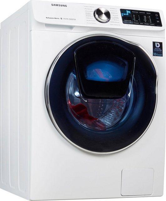 Samsung Waschtrockner WD6500 QuickDrive WD10N642R2W, 10 kg/6 kg, 1400 U/Min, AddWash