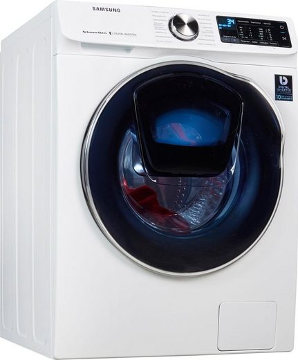 Samsung Waschtrockner WD10N642R2W, 10 kg, 6 kg 1400 U/min, AddWash