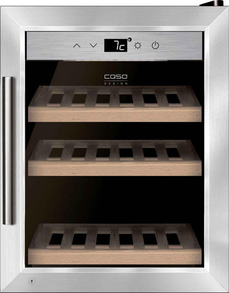 Caso Weinkühlschrank CASO WineSafe 12 classic, für 12 Standardflaschen á 0,75l