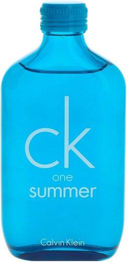 Calvin Klein Eau de Toilette »CK One Summer Edition«