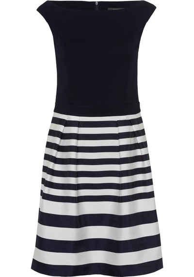 f3ef198ba34d5e Esprit Collection A-Linien-Kleid mit Streifen