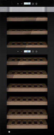 Caso Weinkühlschrank Caso WineComfort Touch A one, für 44 Standardflaschen á 0,75l